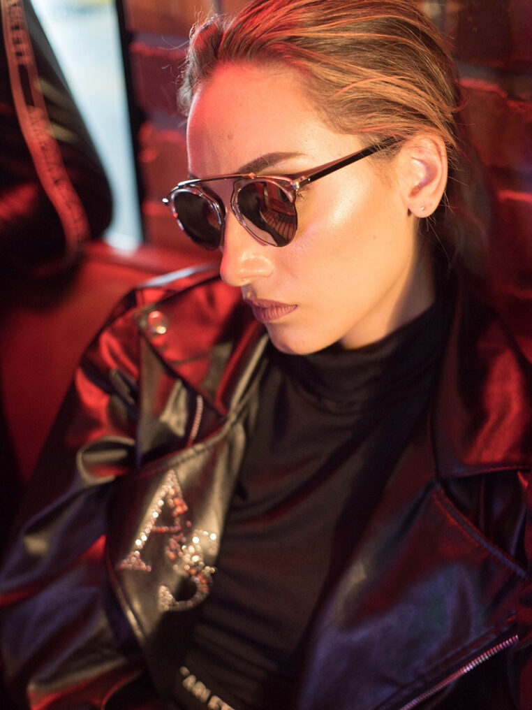 Kai See-Through Sunglasses