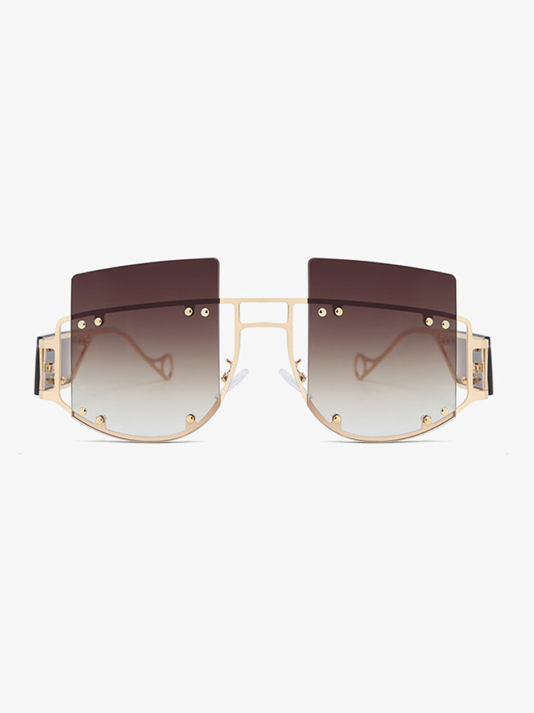 Elliott Sunglasses in Brown Ombre