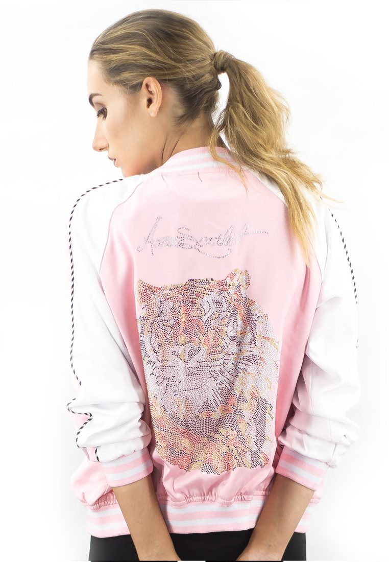The Harimau Baby Pink Bomber Jacket