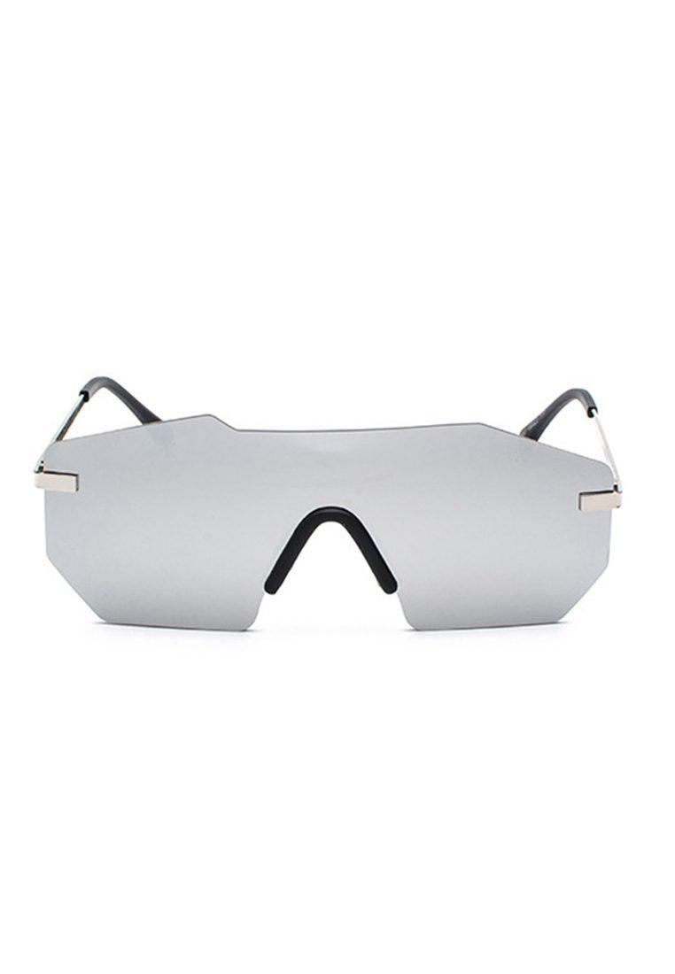 Meta Reflective Mirror Silver Eyewear