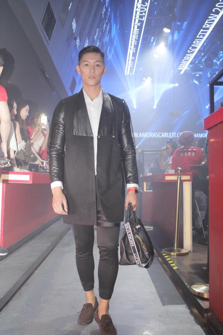 Xeus Leather Blazer