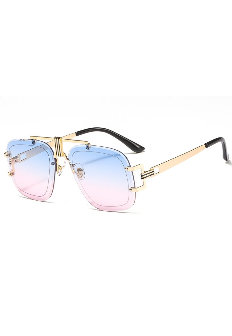 Eyewear Ombre See Through Pink Blue